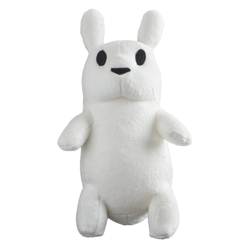 "Rain World - 9.5"" Slugcat Stuffed Plush Toy Front View"