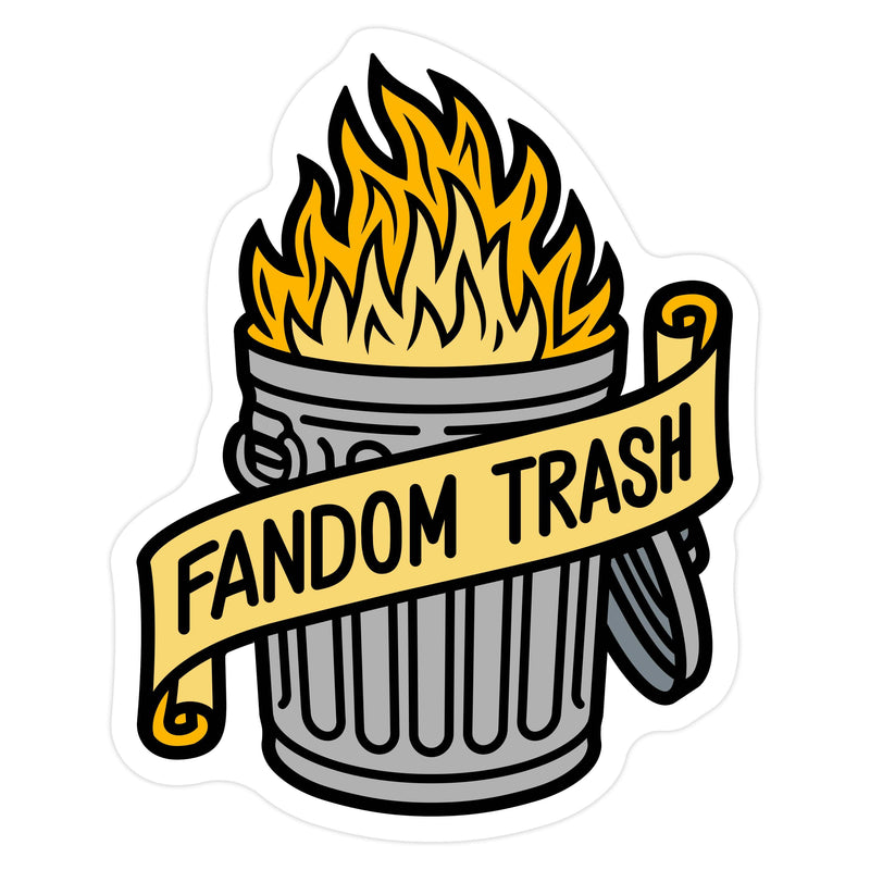 Sanshee - Fandom Trash Sticker