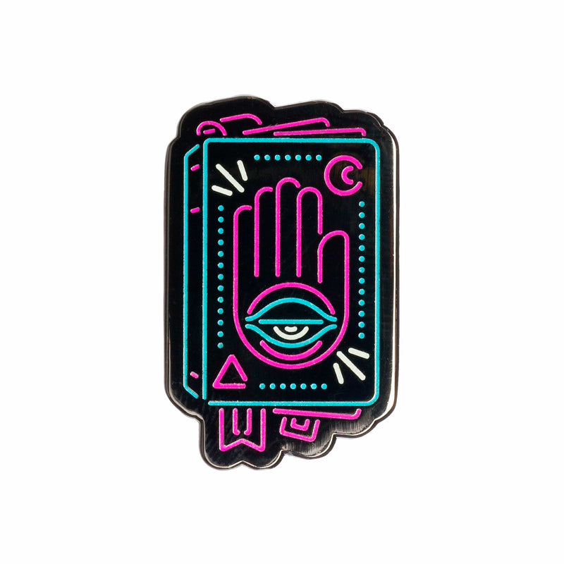 Sanshee - Blind Bag Neon RPG Pins - Series 1 Hand Eye