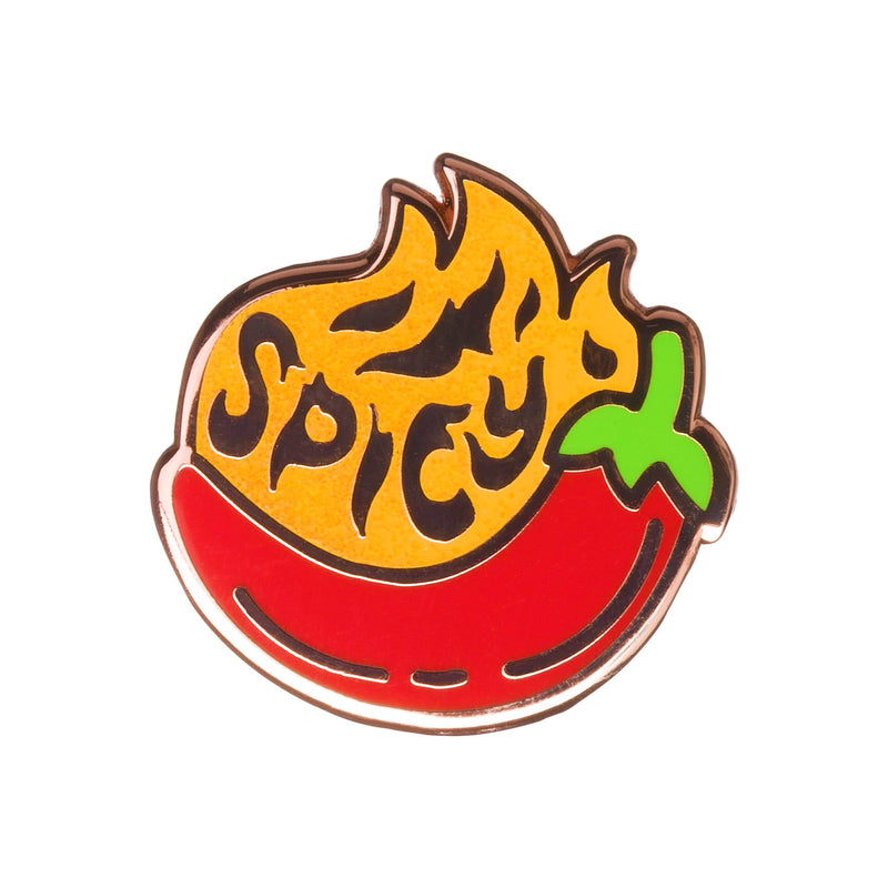 Sanshee - Spicy Copper Plated Enamel Pin