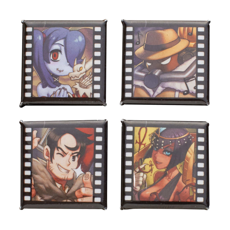 Skullgirls - Film Strip Button Pack: Series 3