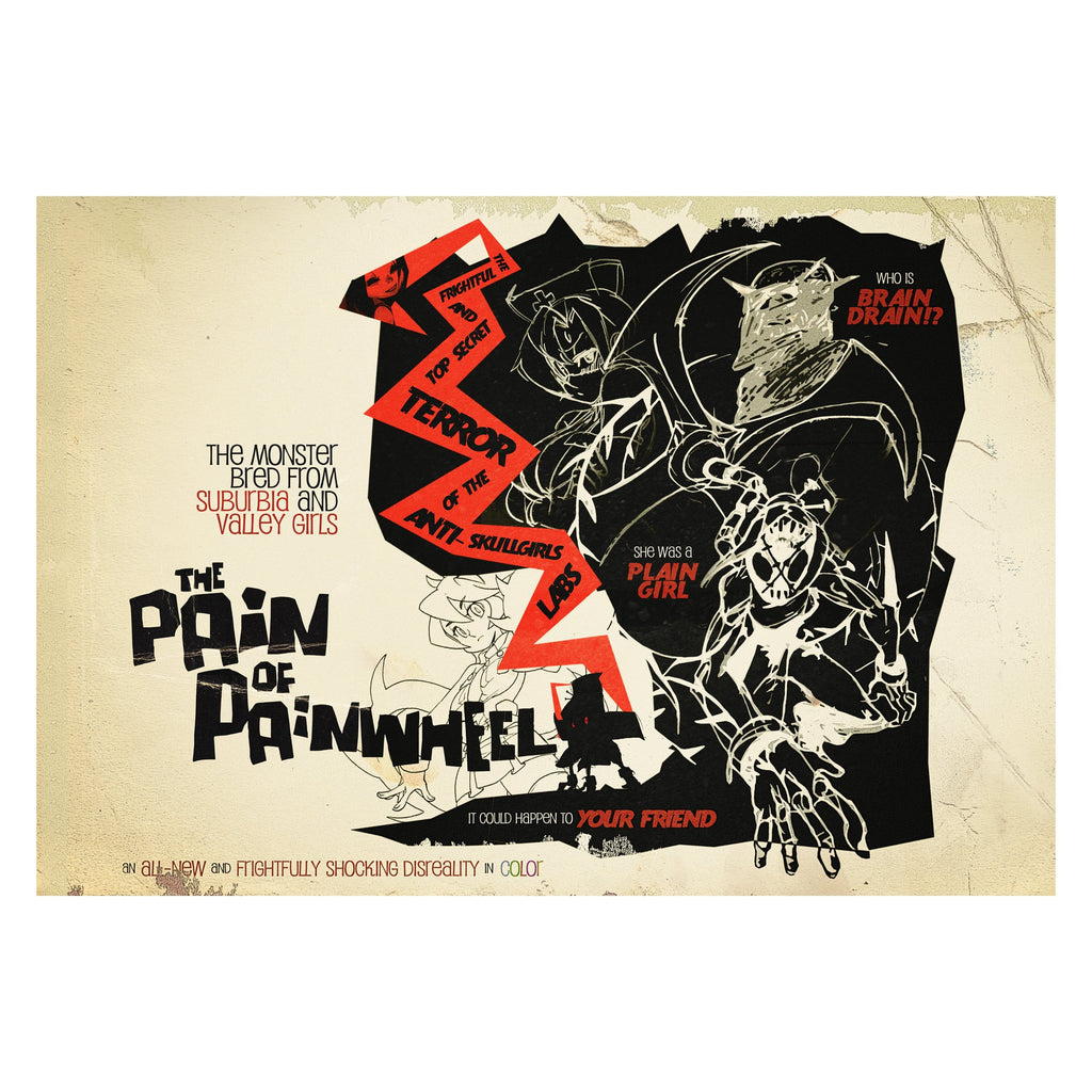 Skullgirls - Cinema Series Poster: Painwheel