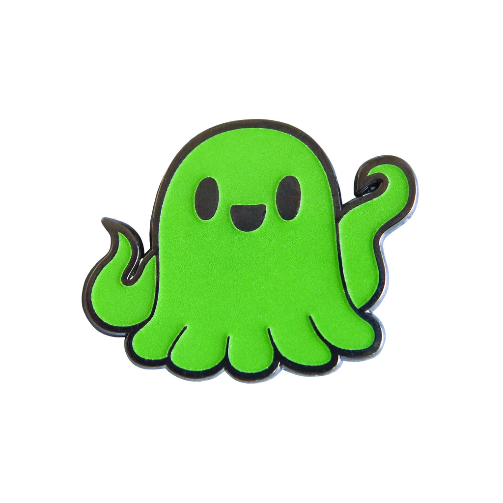 Spooky's Jumpscare Mansion - Specimen 1 Glow-in-the-dark Colored Enamel Pin