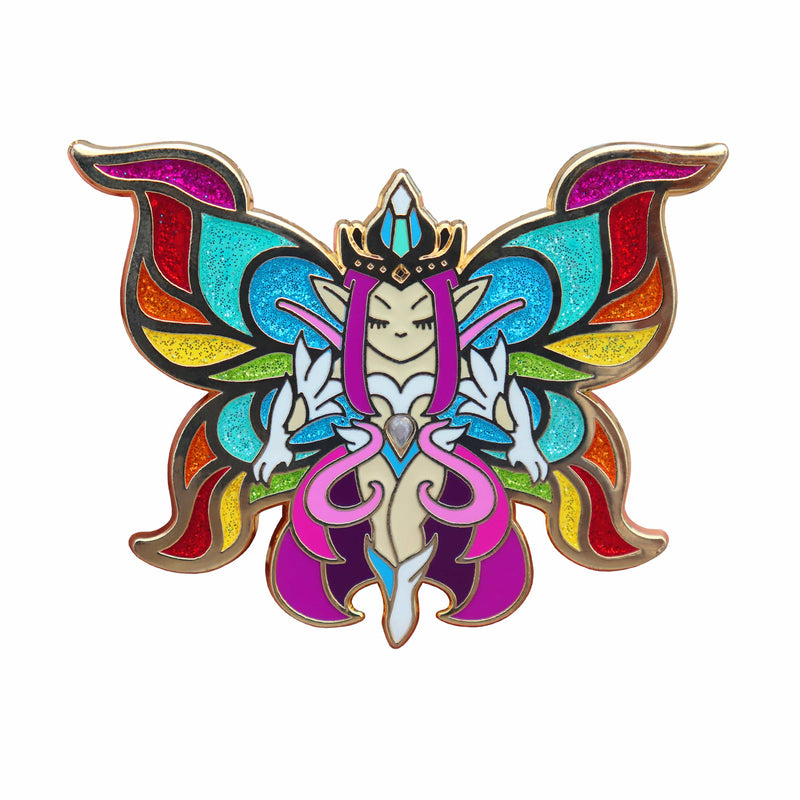 Terraria - Empress of Light XL Gold Plated Enamel Pin