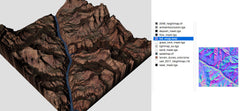Canyon Terrain Texture Collection