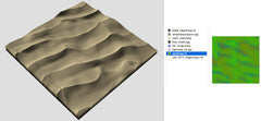Desert terrain texture collection