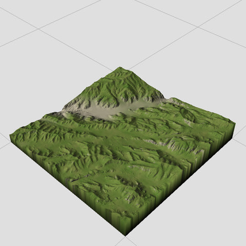 Pinecrest Lake mountains Terrain Textures