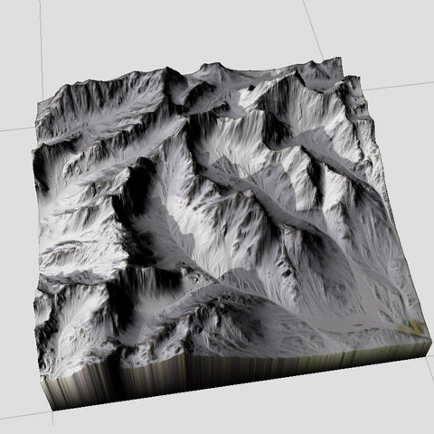 Snow Mountain Terrain Textures