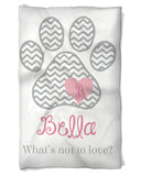 Dog Blanket Personalized with Name and Your Line