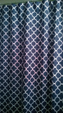 Shower Curtain Lattice Quatrefoil