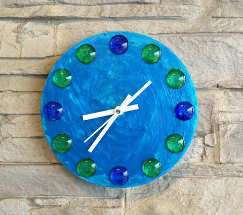 Creative Canvas Clock #1