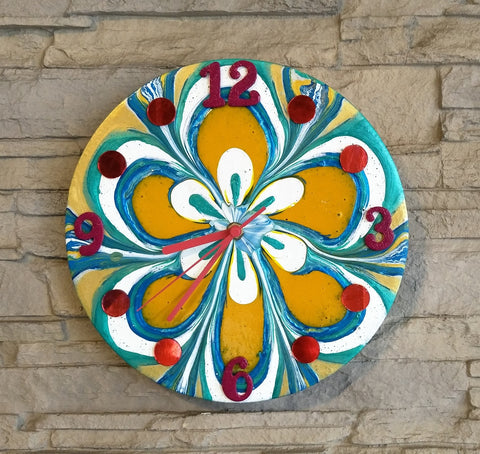 Creative Canvas Clock #4