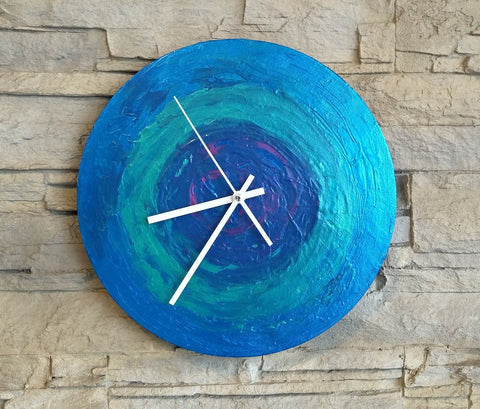 Creative Canvas Clock #6