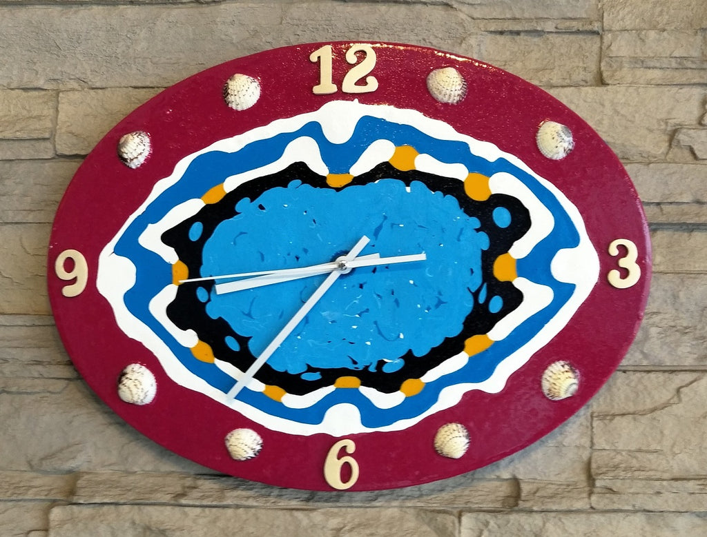 Creative Canvas Clock #5