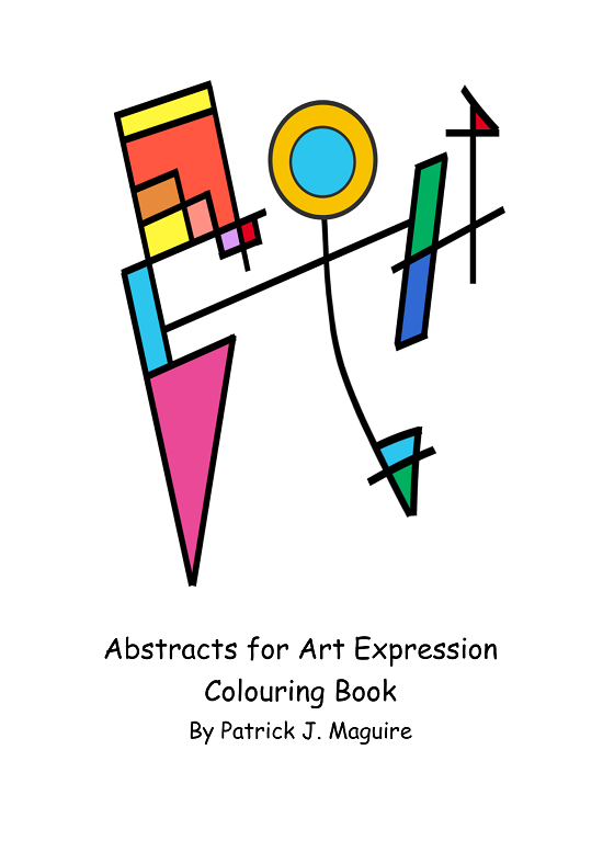 Abstracts for Art Expression Activity Book