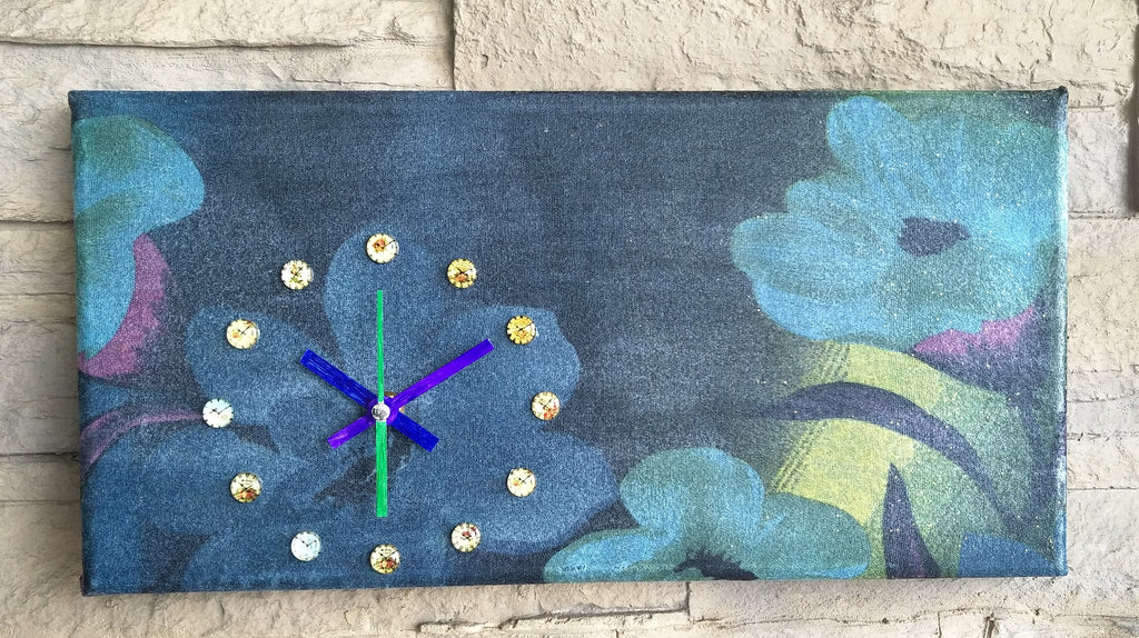 Creative Canvas Clock #10