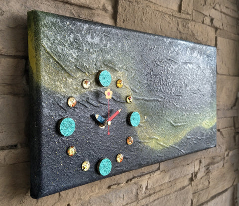 Creative Canvas Clock #11