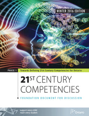 Towards Defining 21st Century Competencies for Ontario