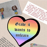 W.T. Townshend Public School creates an unlearn book