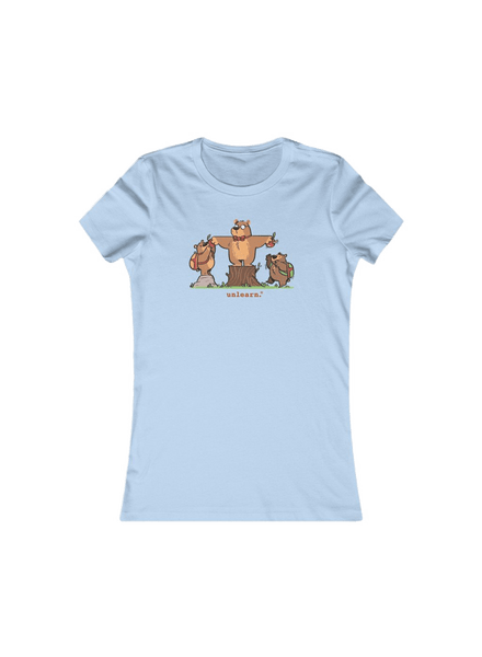 Bears - Women's Fitted Tshirt