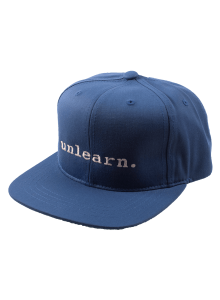 unlearn. Youth Snapback Hat