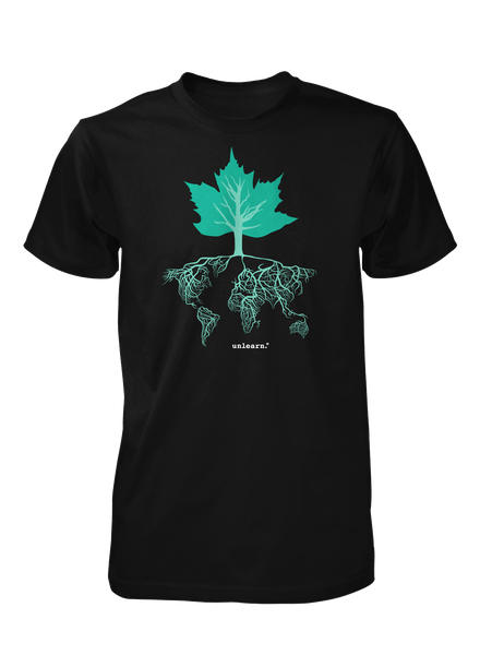 Diversitree - Women's Black Fitted T-Shirt