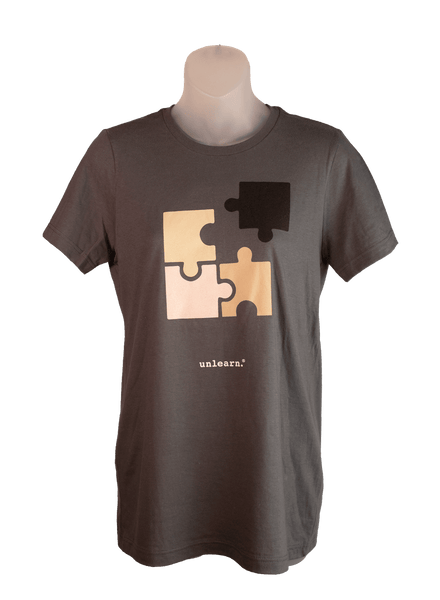 Puzzled - Women's Slate Grey T-Shirt