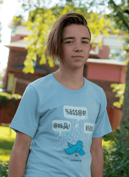 Blue Bird - Kids T-shirt