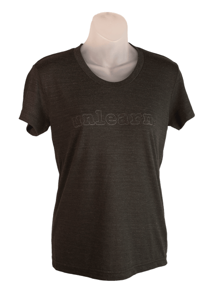 unlearn Embossed Logo - Women's T-Shirt