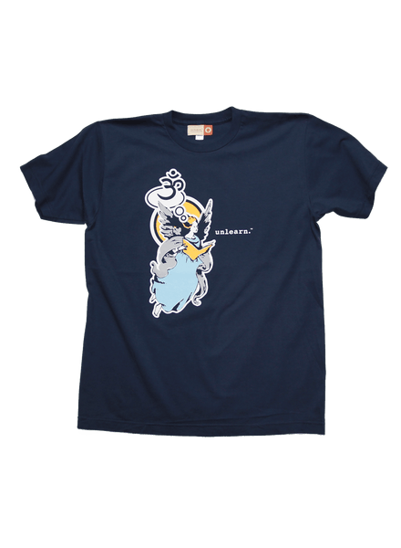 Angel - Unisex Navy T-Shirt