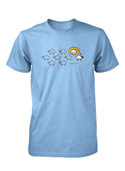 Black Sheep - Unisex Light Blue T-Shirt