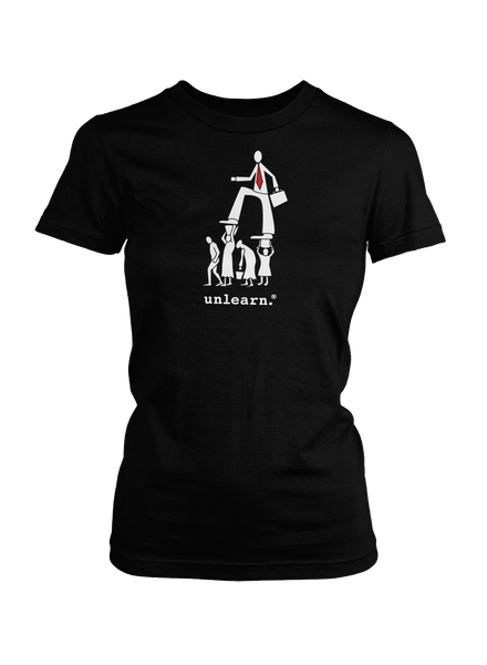 Corporate - Women's Black T-Shirt