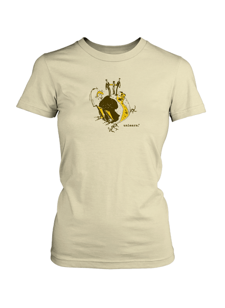 Cree Prophecy - Women's Natural T-Shirt