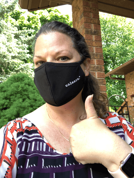unlearn. Reusable Face Mask