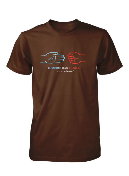 Extendhand - Women's Brown T-Shirt