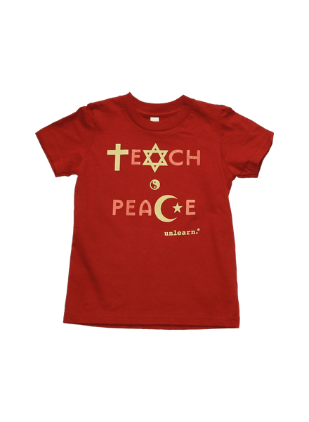 Teach Peace - Kids T-Shirt