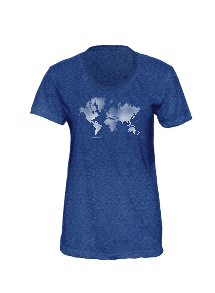 Pill Generation - Women's Indigo T-Shirt