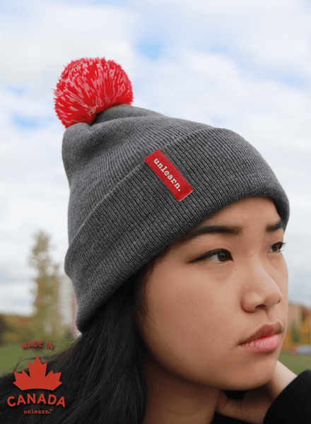 unlearn. - Toque with Pom