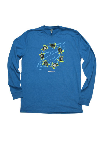 Turtles - Unisex Heather Long Sleeve T-Shirt