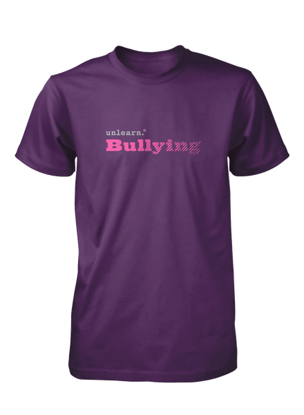 Bullying - Unisex Purple T-Shirt