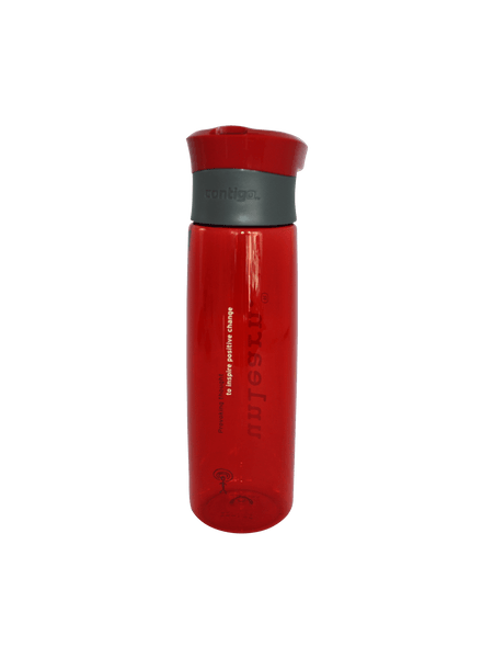 unlearn. Red Water Bottle