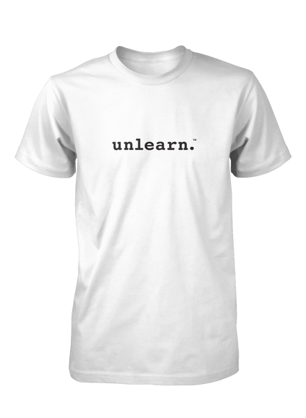 unlearn. Logo - Unisex T-Shirt