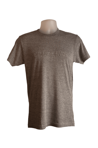 unlearn Embossed Logo - Unisex T-Shirt