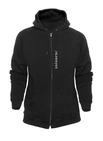 War Dove - Unisex Black Fleece Zipper Hoody