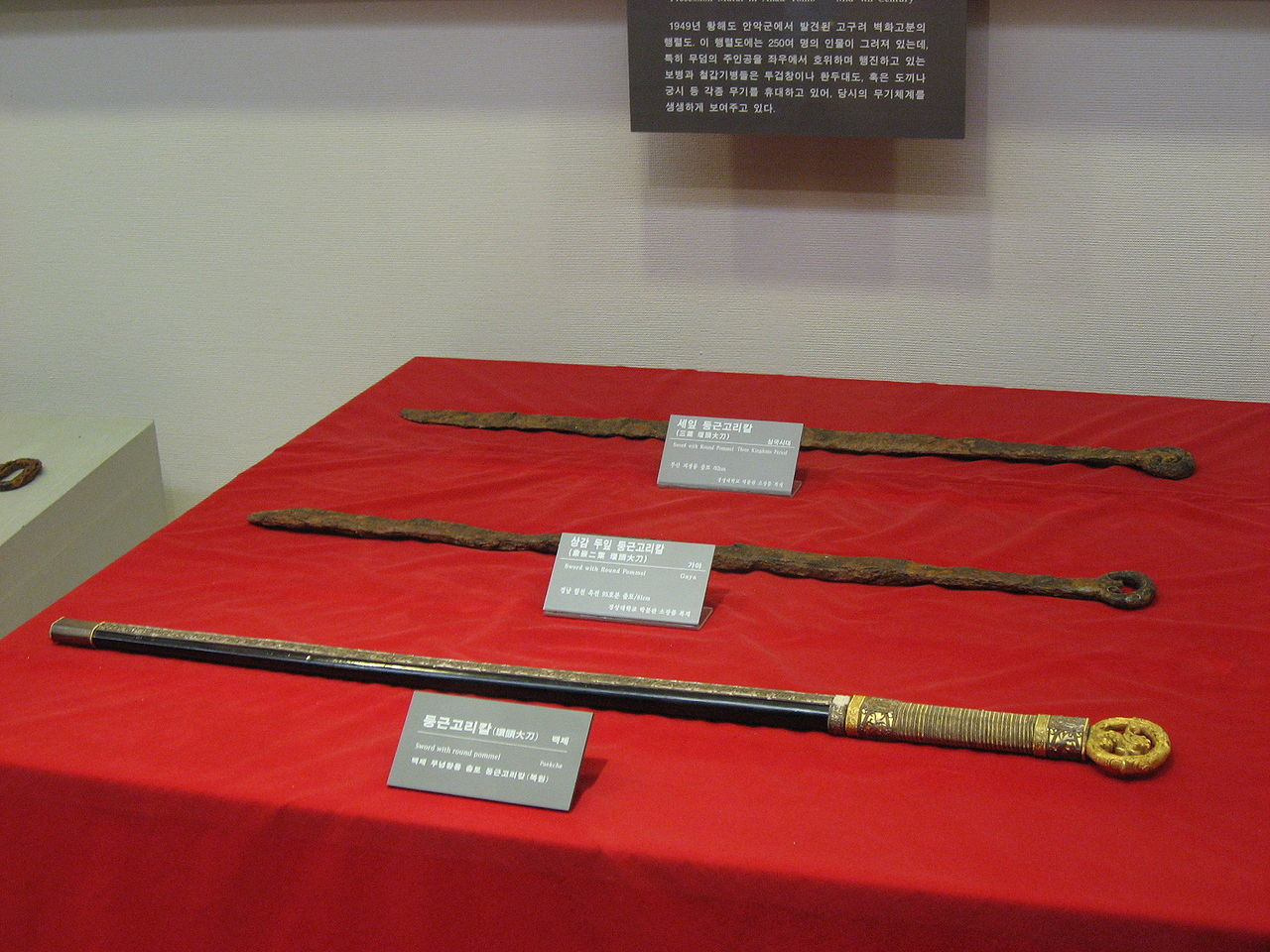 Korean Swords Produced During the Three Kingdoms Period