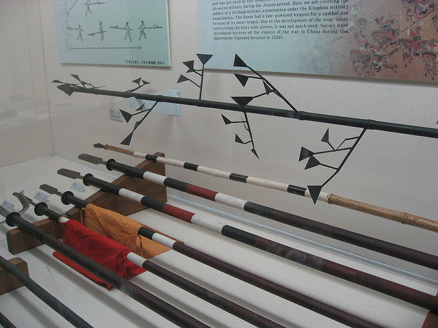 Comparing the Different Types of Traditional Korean Spears