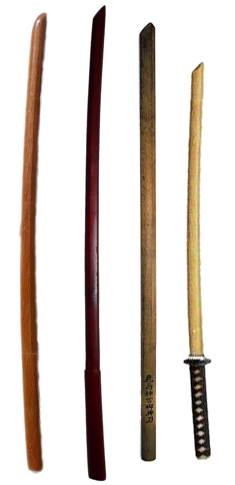 Comparing the Different Types of Bokken
