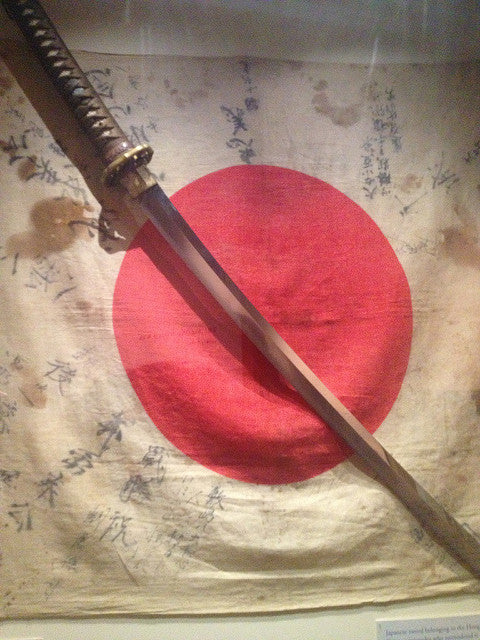What are 'Blood Grooves' in a Katana?