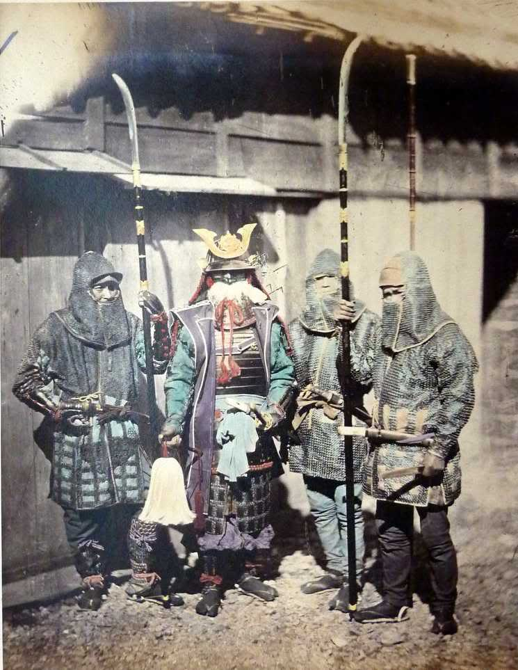History of the Japanese Naginata