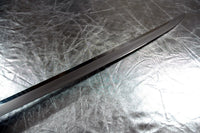 Antique reproduction katana with silver tosogu (fittings) - high quality sword from Martialartswords.com